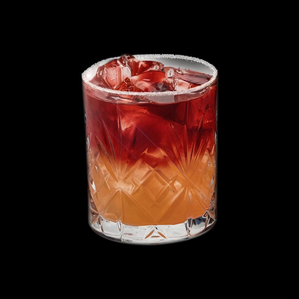 bicchiere con dentro un cocktail