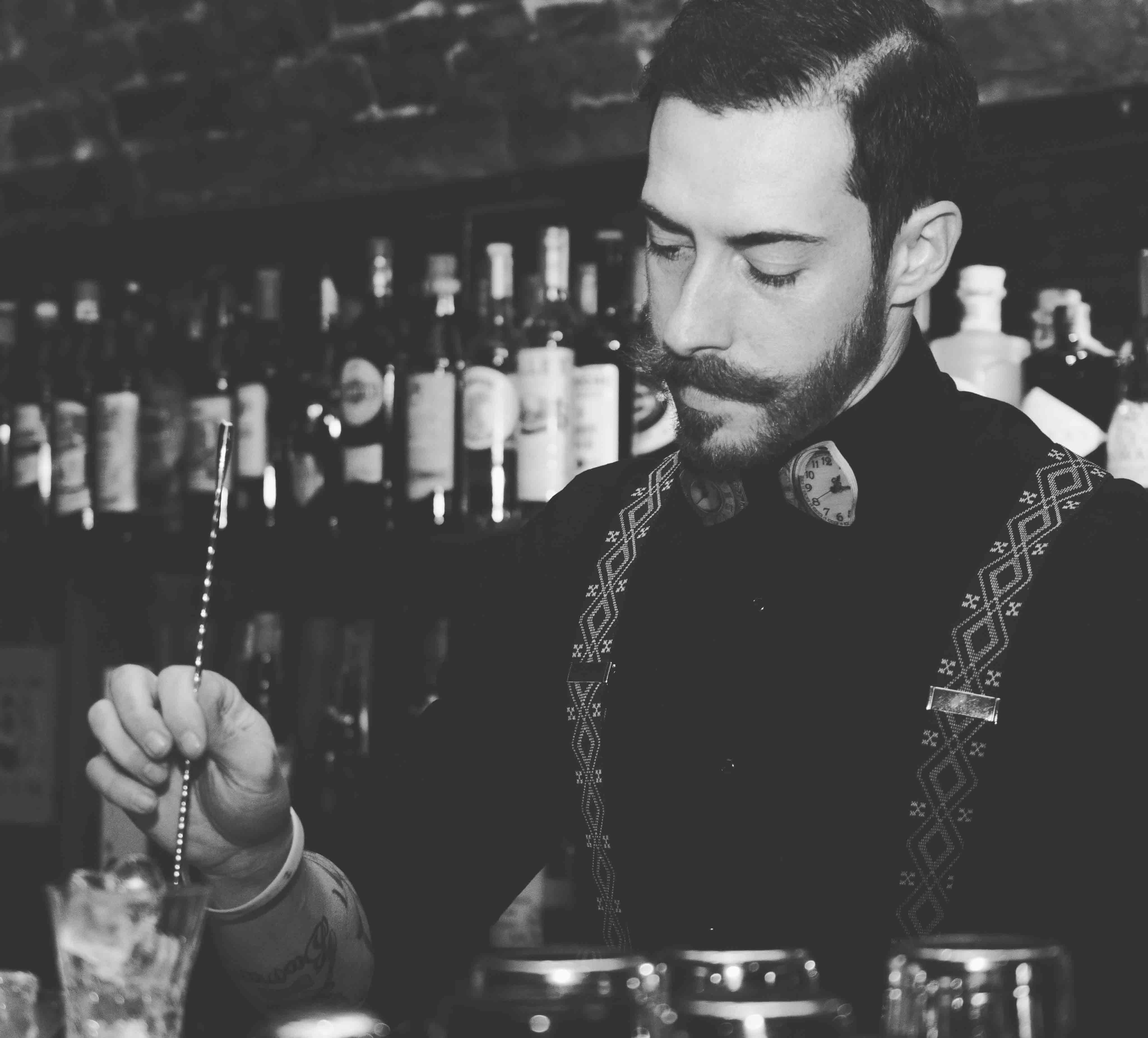 Bartender Daniele Zito