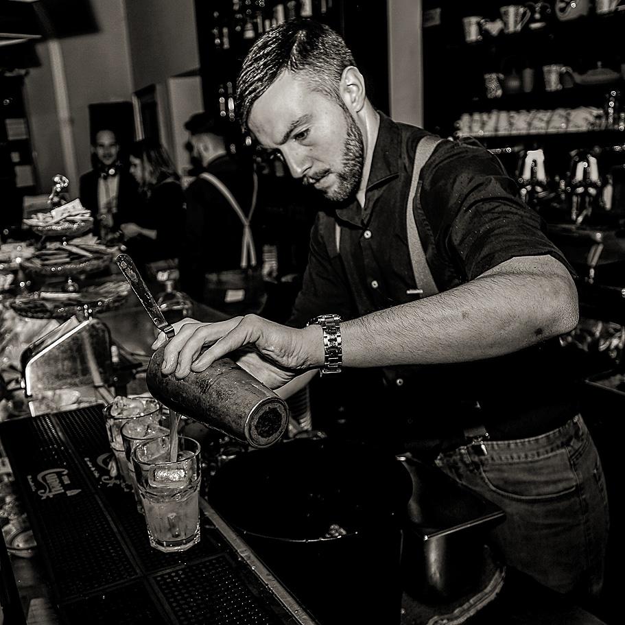 Bartender Diego Di Giannantonio