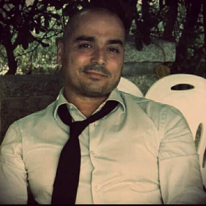 Bartender Fabrizio Spanu